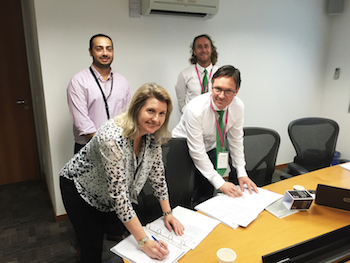 Statoil and TESS sign frame agreement in Brazil