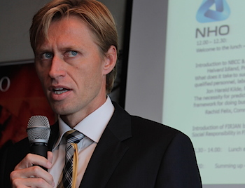 Halvard Idland welcomes a closer cooperation between the chambers of commerce and NHO.