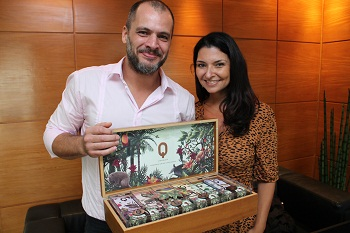 The Q chocolate comes in a variety of intensities, ranging from 55 -85 per cent of cocoa, and the participants at the tasting on February 13 had the chance to taste all of them.